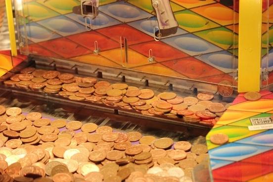 arcade coin drop machine