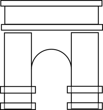 Arch clip art