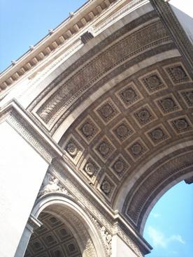 arch of triumph angle architecture