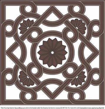 architectural ornament vector