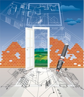 architectural series vector 7
