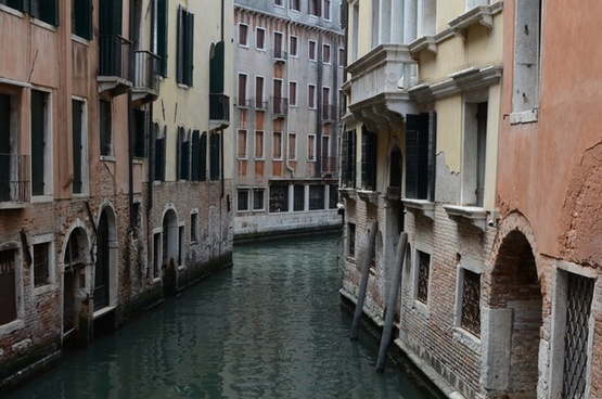 architecture art balcony canal channel european
