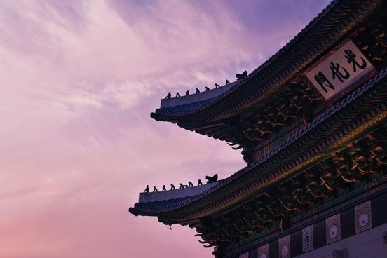 architecture art buddhism chinese culture fisheye