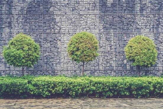 architecture background brick building design