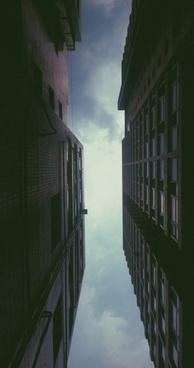 architecture backlit building city daytime fine art