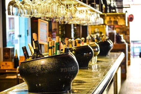 architecture bar cafe city indoors luxury night