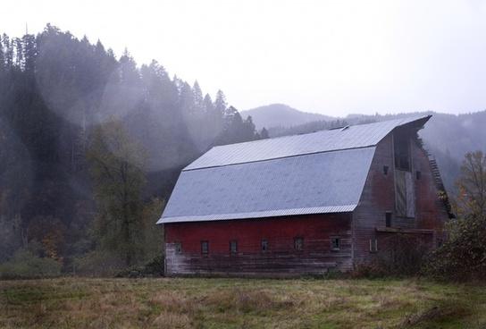 architecture barn building cabin dwelling farm home