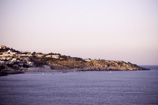 architecture beach coast island landscape nature