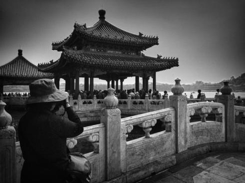 architecture black and white buddha buddhism buddhist