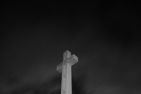 architecture black and white church cross dark fine