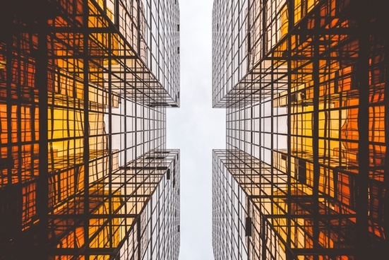 architecture block building business city commercial