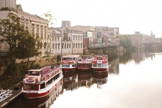 architecture boat bridge building canal city