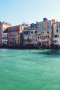 architecture boat building canal city gondola