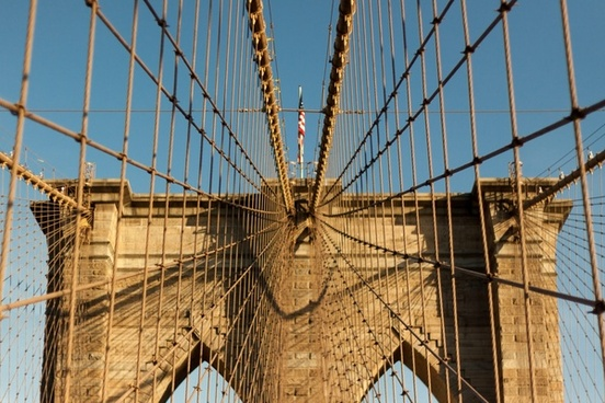 architecture bridge building business cable city