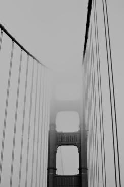 architecture bridge building cable city connection