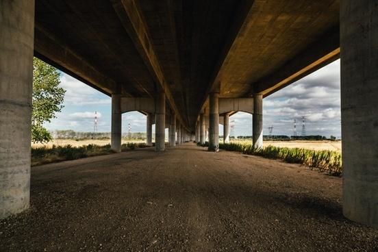 architecture bridge building city concrete farm
