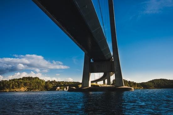 architecture bridge building city connection daytime