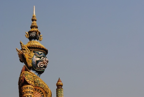 architecture buddhism building city daytime gold