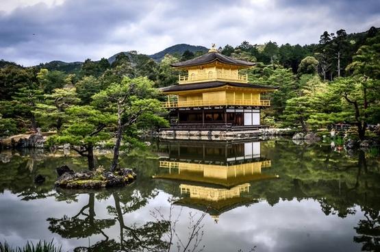 architecture buddhist building culture daytime garden