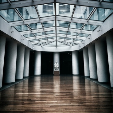 architecture building business ceiling floor glass