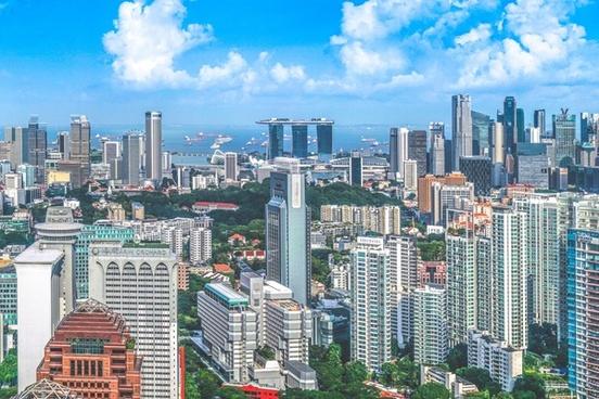 architecture building business central city cityscape