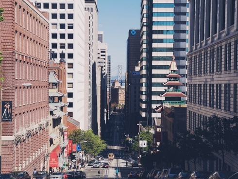 architecture building business city cityscape