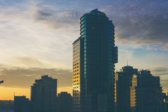 architecture building city cityscape cloud evening