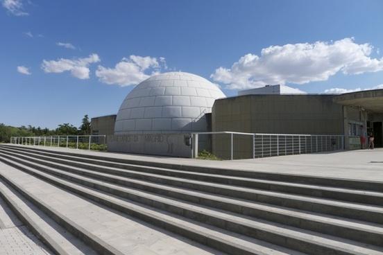 architecture planetarium city