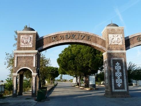 archway oriental arabic