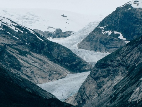 arctic climate change climbing cold glacier hiking