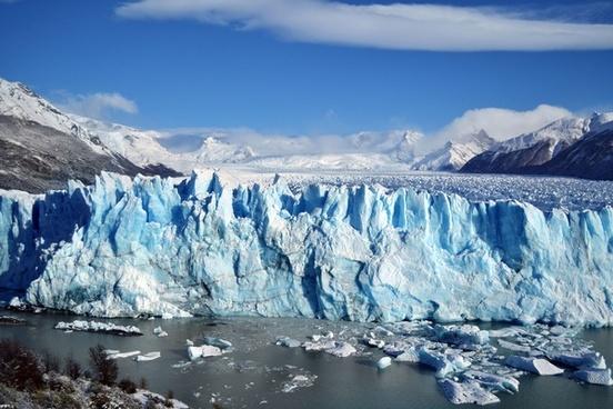 arctic cold frozen glacier ice iceberg landscape