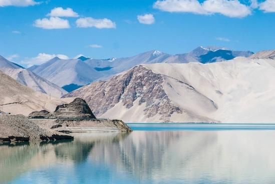arctic glacier hiking ice iceberg lake landscape