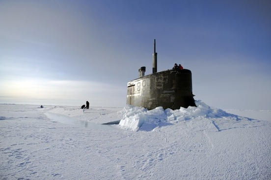 arctic ocean submarine us navy