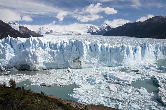 argentina glacier ice