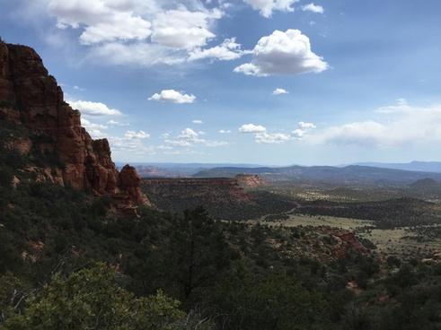 arid canyon daytime desert dry geology hiking
