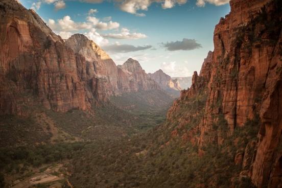 arid canyon daytime desert geology landscape