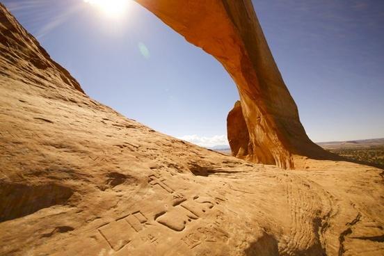 arid daytime desert dry erosion geology hot land