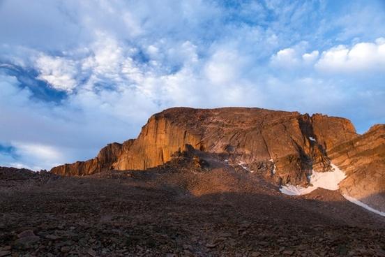 arid daytime desert dry geology landscape monolith