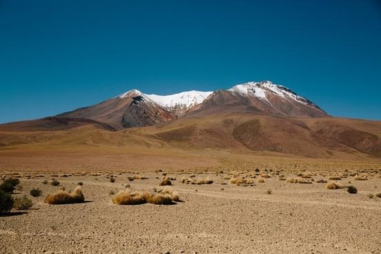 arid daytime desert dry hill landscape majestic