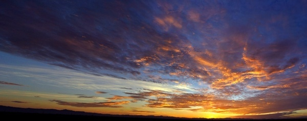 arizona sunrise panorama 72212