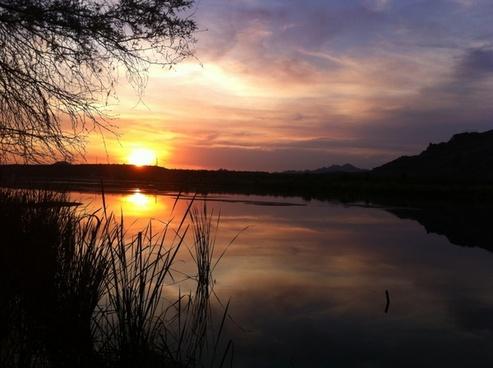 arizona sunset salt