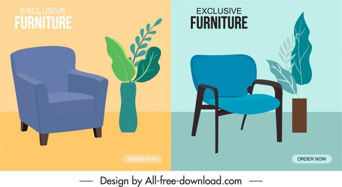 armchair furniture advertising posters elegant decor classic design