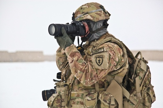 army war photographer