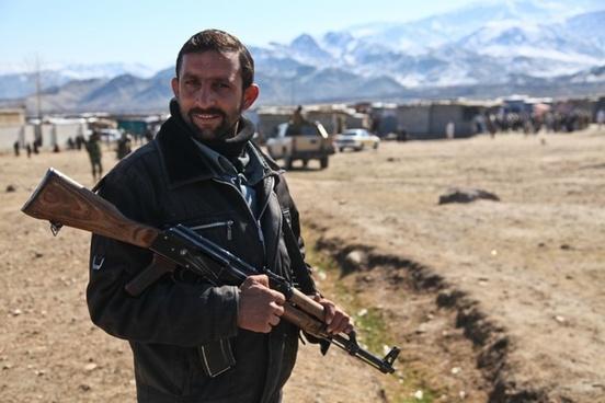 army weapon afghani