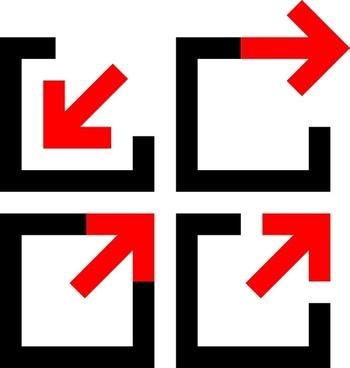 Arrow Logos clip art