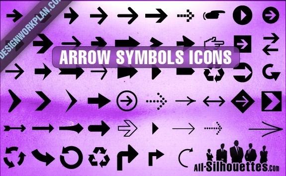 Arrow Symbols Icons