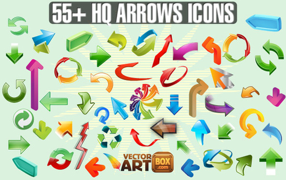 arrows icons