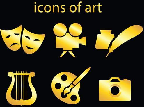 art icon vector vector