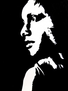 art painting woman