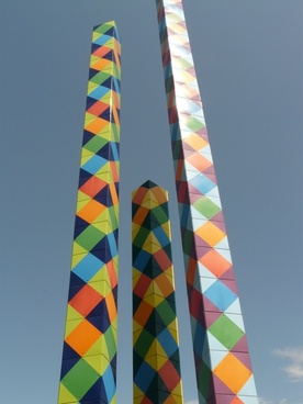 artwork columnar art
